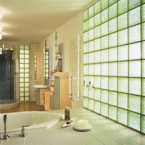 Ordinaire Glass Block Bathroom