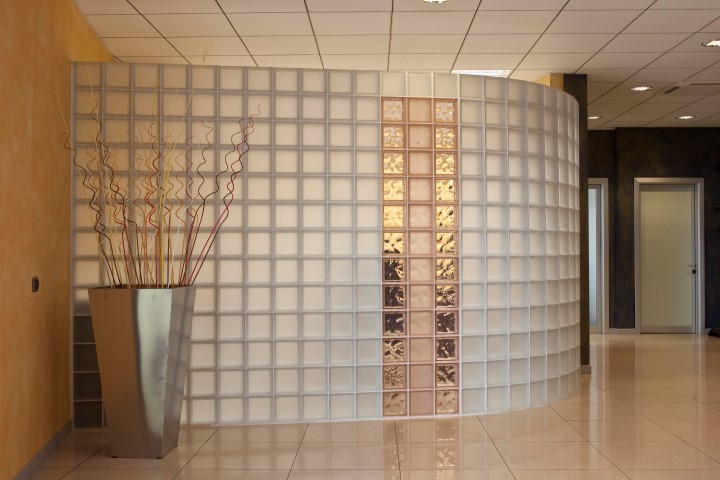 Interior partition walls buffalo glass block Interior partitions for homes