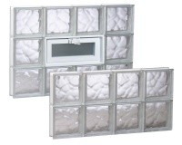 Buffalo glass block for Glass block options
