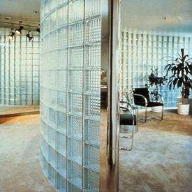 interior partition walls   buffalo glass block
