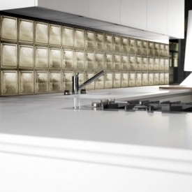 Glass Block Kitchen