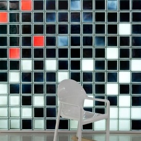 Design your own glass block wall