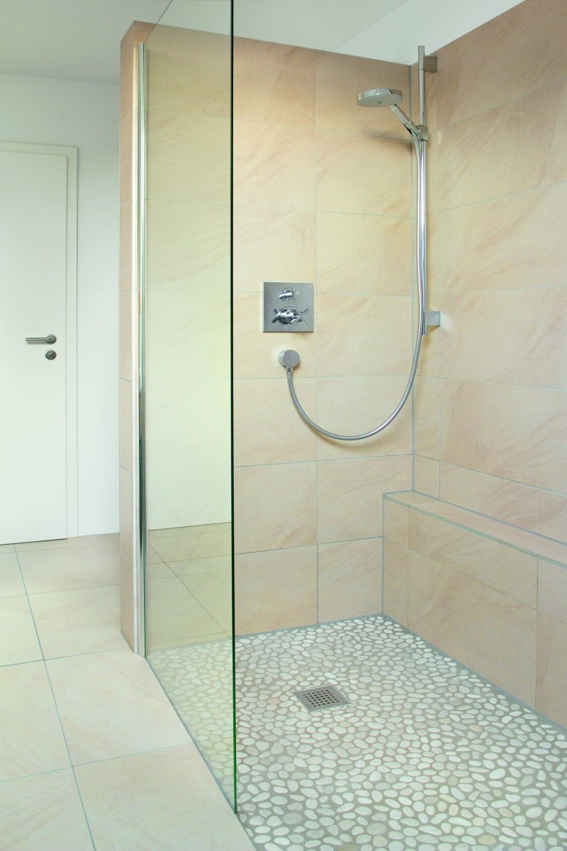 A d a and curbless bases buffalo glass block - Wedi fundo shower pan ...